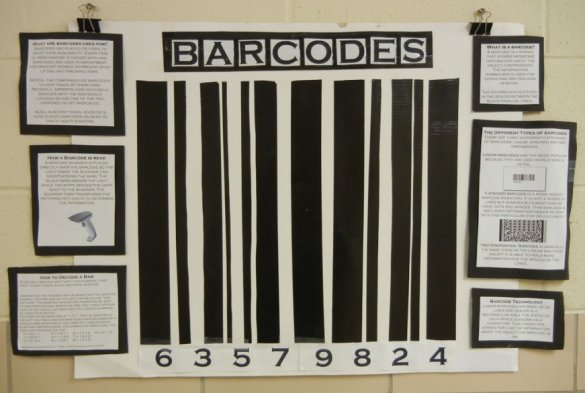Student Poster about Barcodes