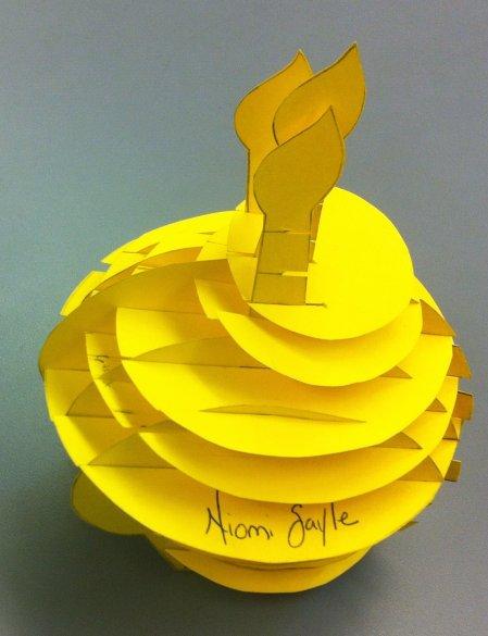 Student Slice Form: A Cupcake