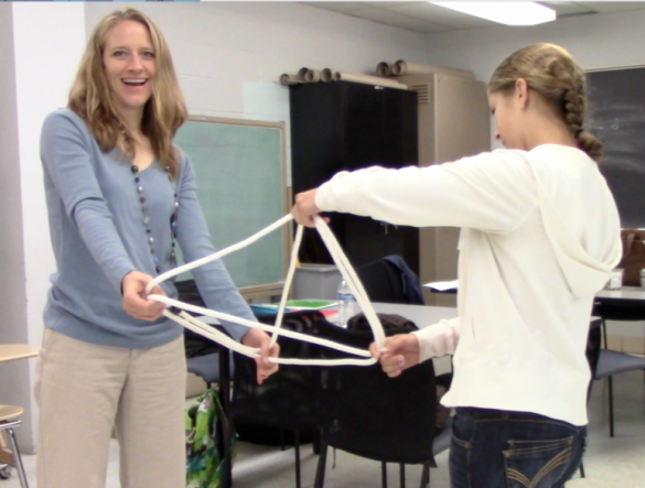 Rope Tetrahedron