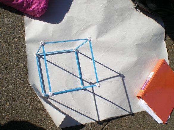 Cube Shadow