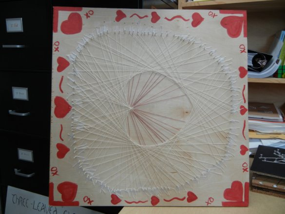 String Art Cardioid