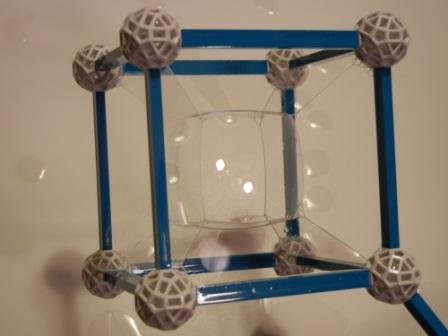 Soap Bubble Hypercube