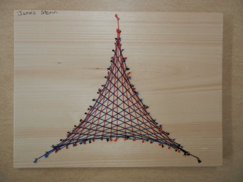 String Art: Deltoid