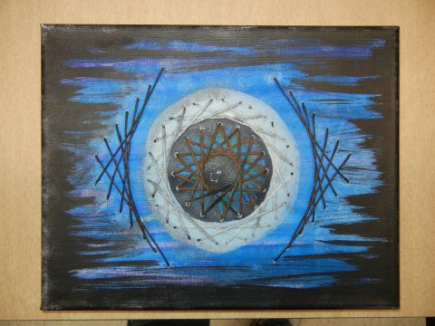 String Art: Eye