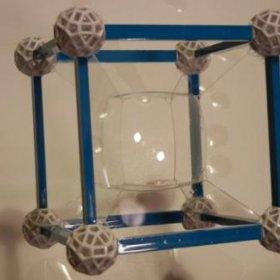 Soap Bubble Hypercube