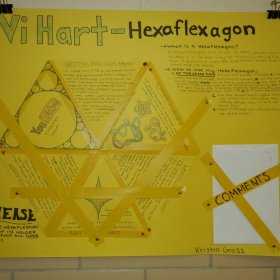 Student Poster about Vi Hart