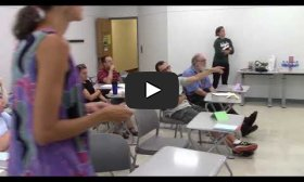 Workshop at Holyoke Community College: Immersion in Inquiry- Sharing out